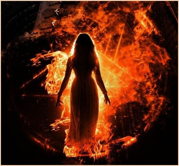 Ведьма в огне