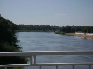 Вид на Урал с моста