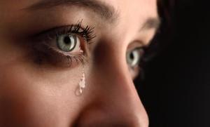 Очистительные слёзы взрослого человека