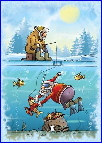 Дед Мороз волшебник