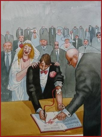 Унылая свадьба