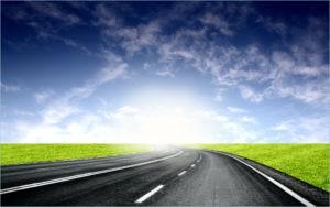Широкая и просторная дорога