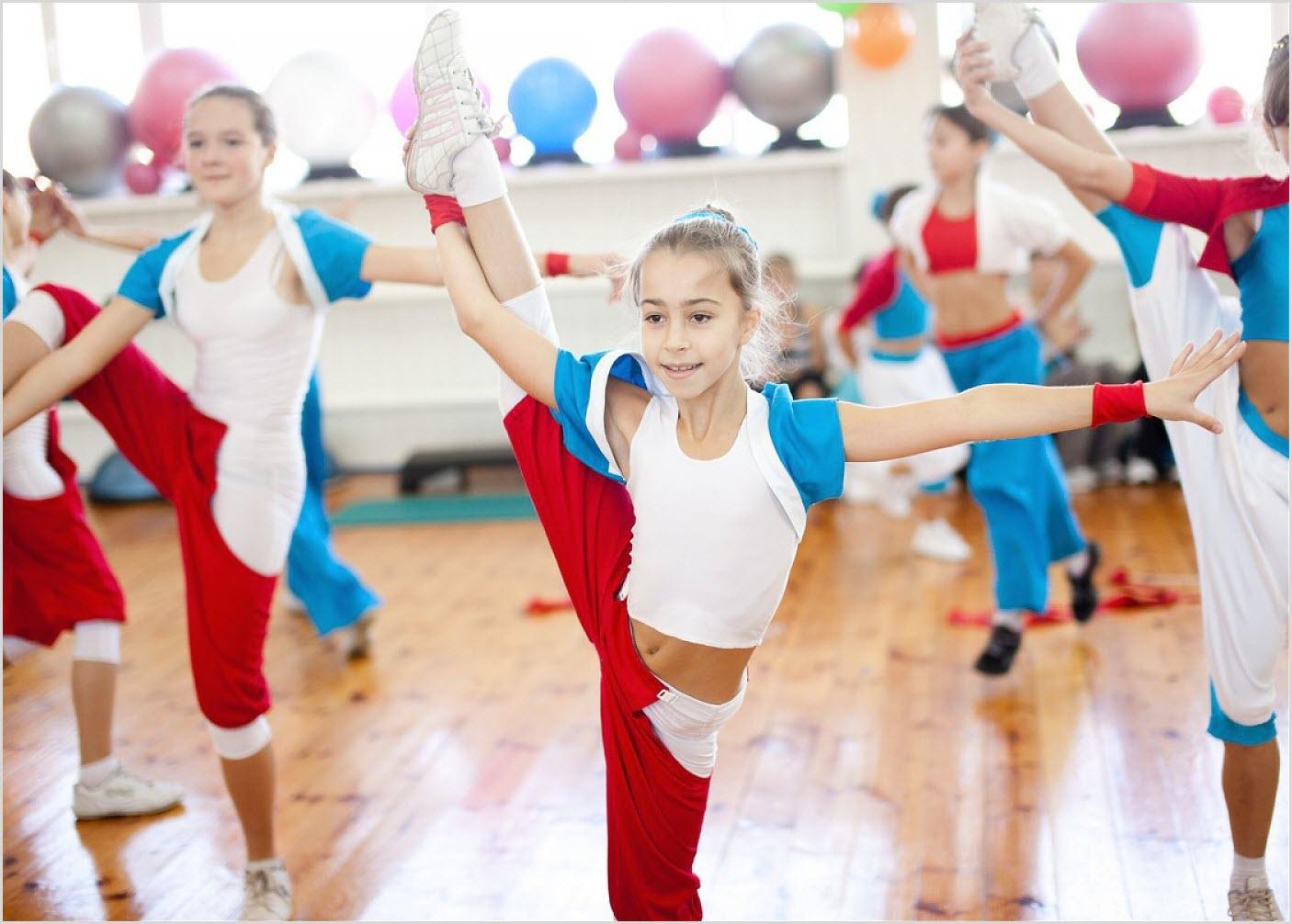 Детская балетная группа