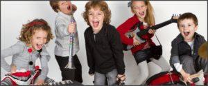 Развесёлый ансамбль детей