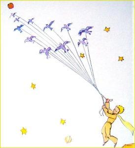Маленьки принц в полёте