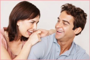 Влюблённые смеются