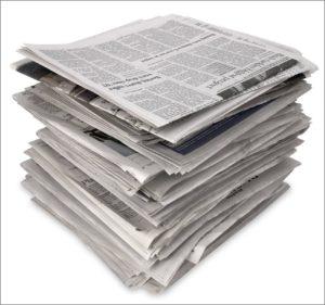 Оплата счетов газет