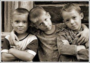 Трое друзей