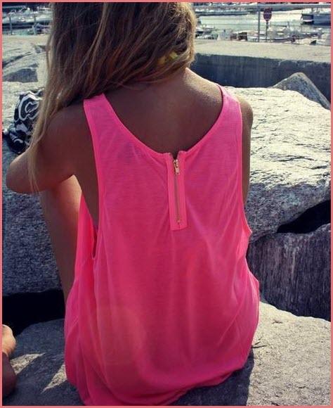 Девушка спиной