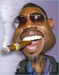 Негр с сигарой
