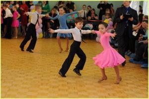 Юные танцоры