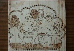 Картинка в парилке