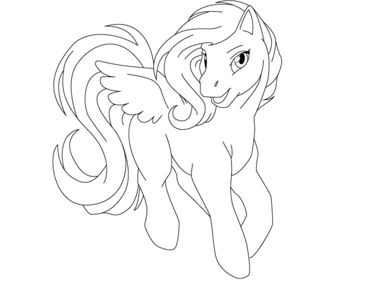 Рисунок пони 4