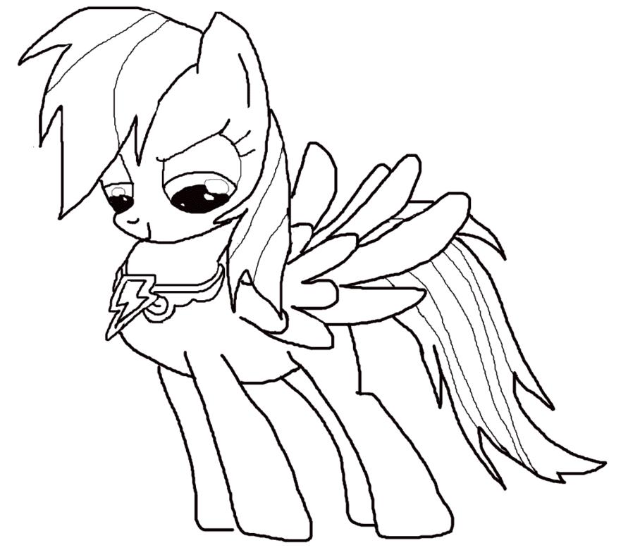 Грустный пони