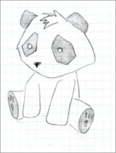 Картинка панда