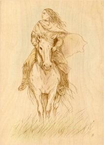 Картинка конь