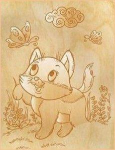 картинка кошка