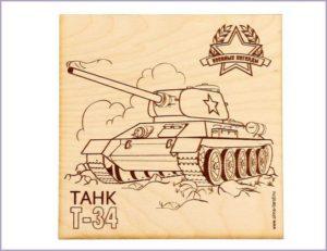 Картинка танк Т-34