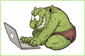 Тролль в интернете