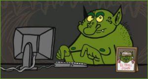 Зелёный тролль