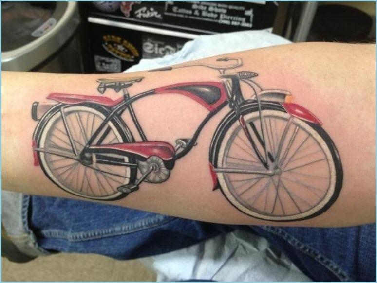 Тату велосипед
