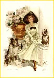 Дама с собачками