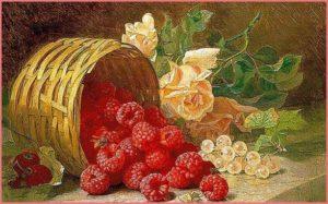 Малина и виноград