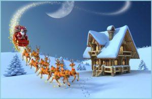Дед Мороз прибыл на Рождество