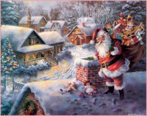 Дед Мороз с подарками пришёл