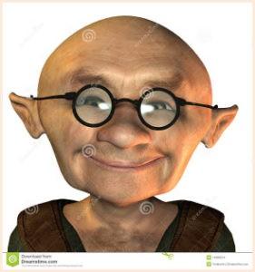 Старик в очках
