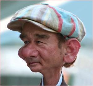 Дед в кепке
