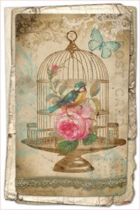 Винтажные птицы