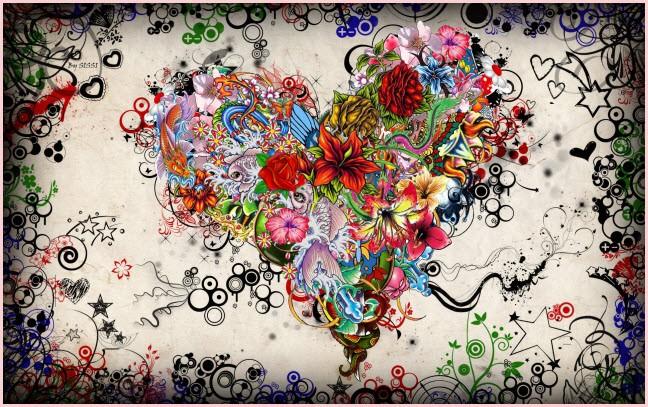 Цветы и звёзды