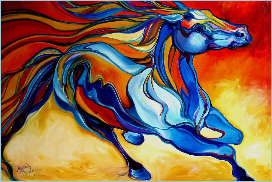Волшебная лошадь