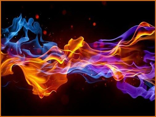 Огонь и пламя