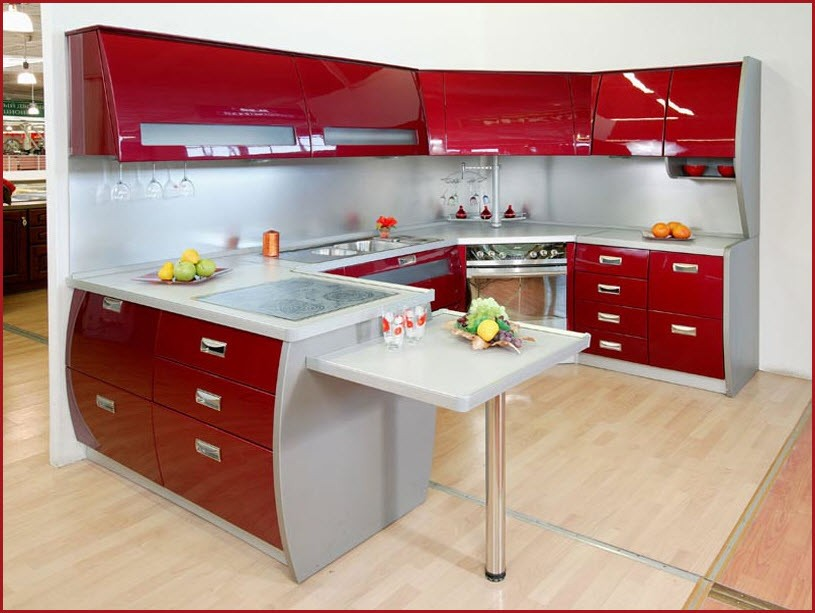 Кухня модерн шик