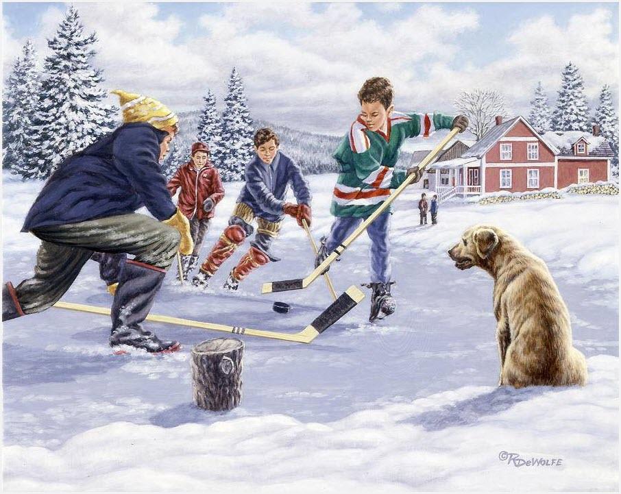 Яростный хоккей