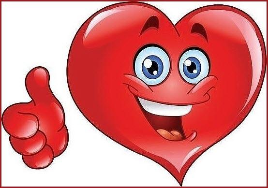 Смайлик сердечко 2