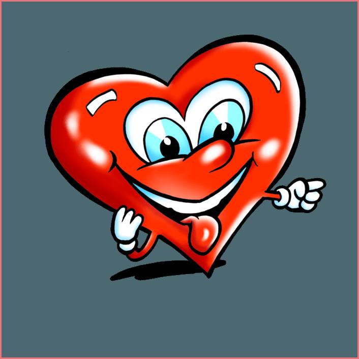 Смайлик сердечко 5