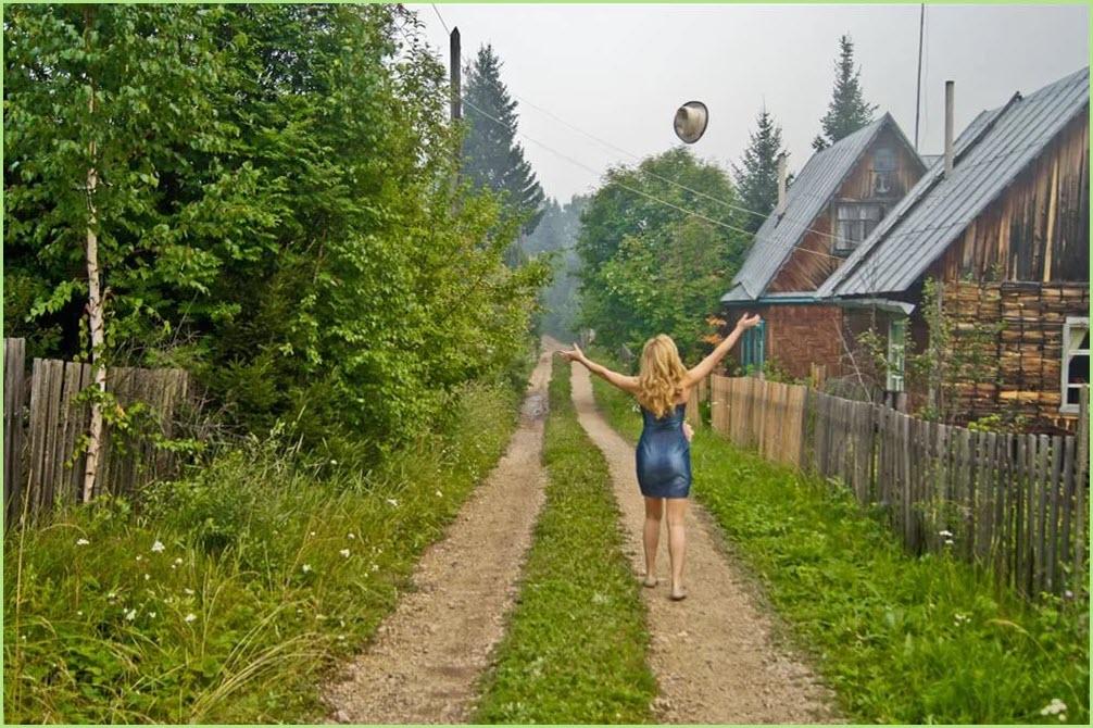 В деревне летом