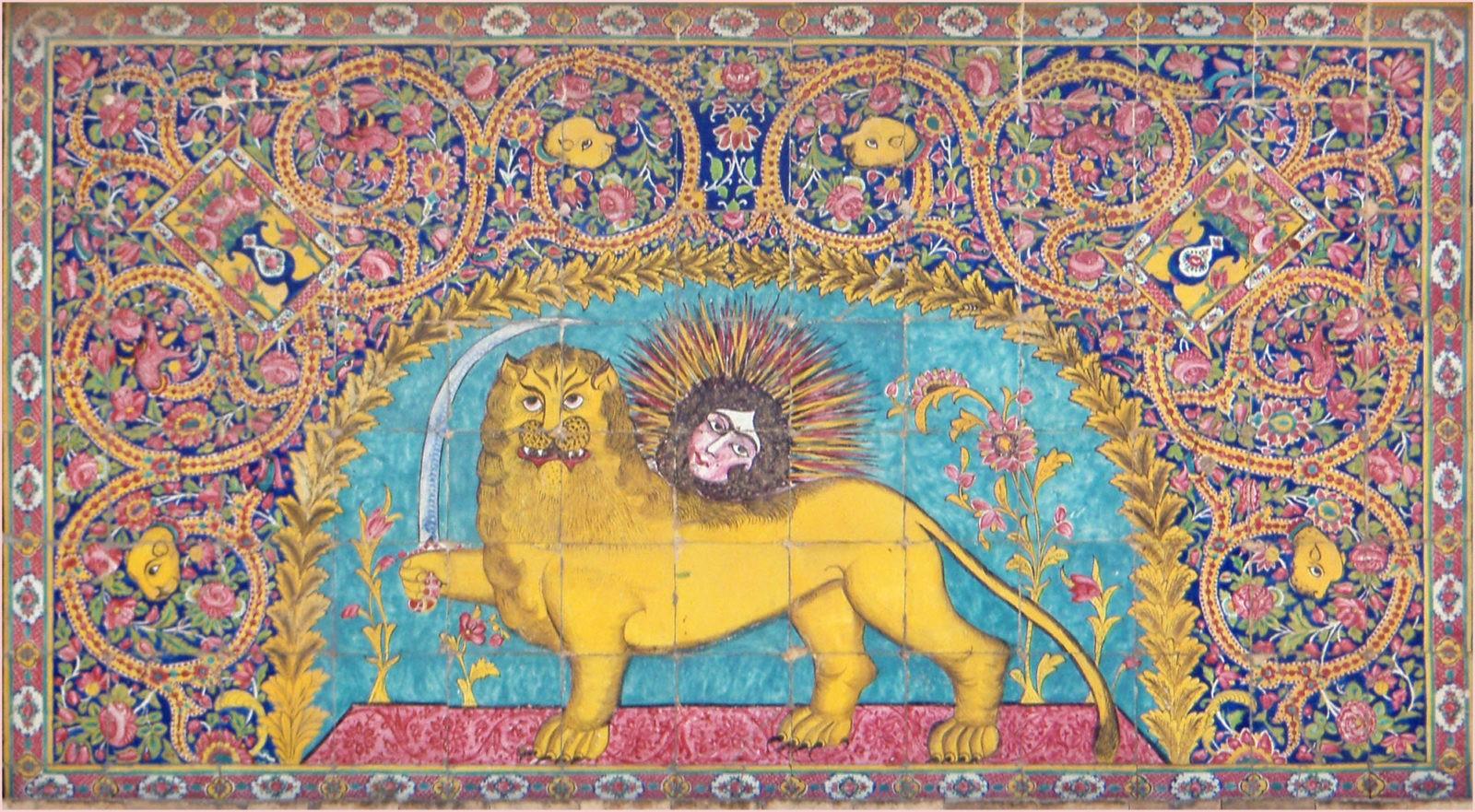 Персидский узор