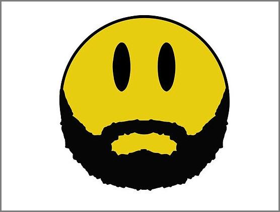 Бородатый смайлик