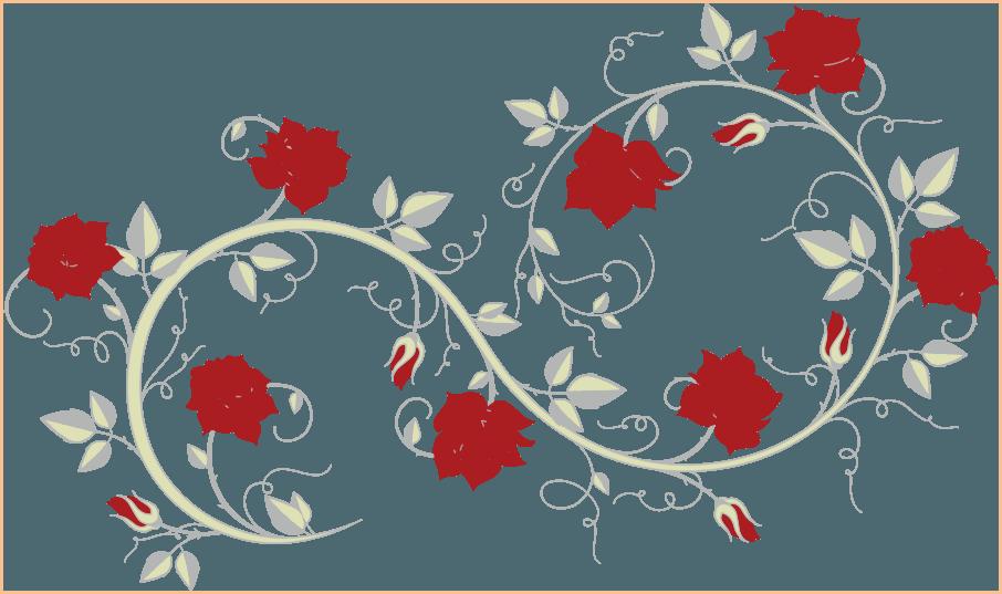 Узор розы