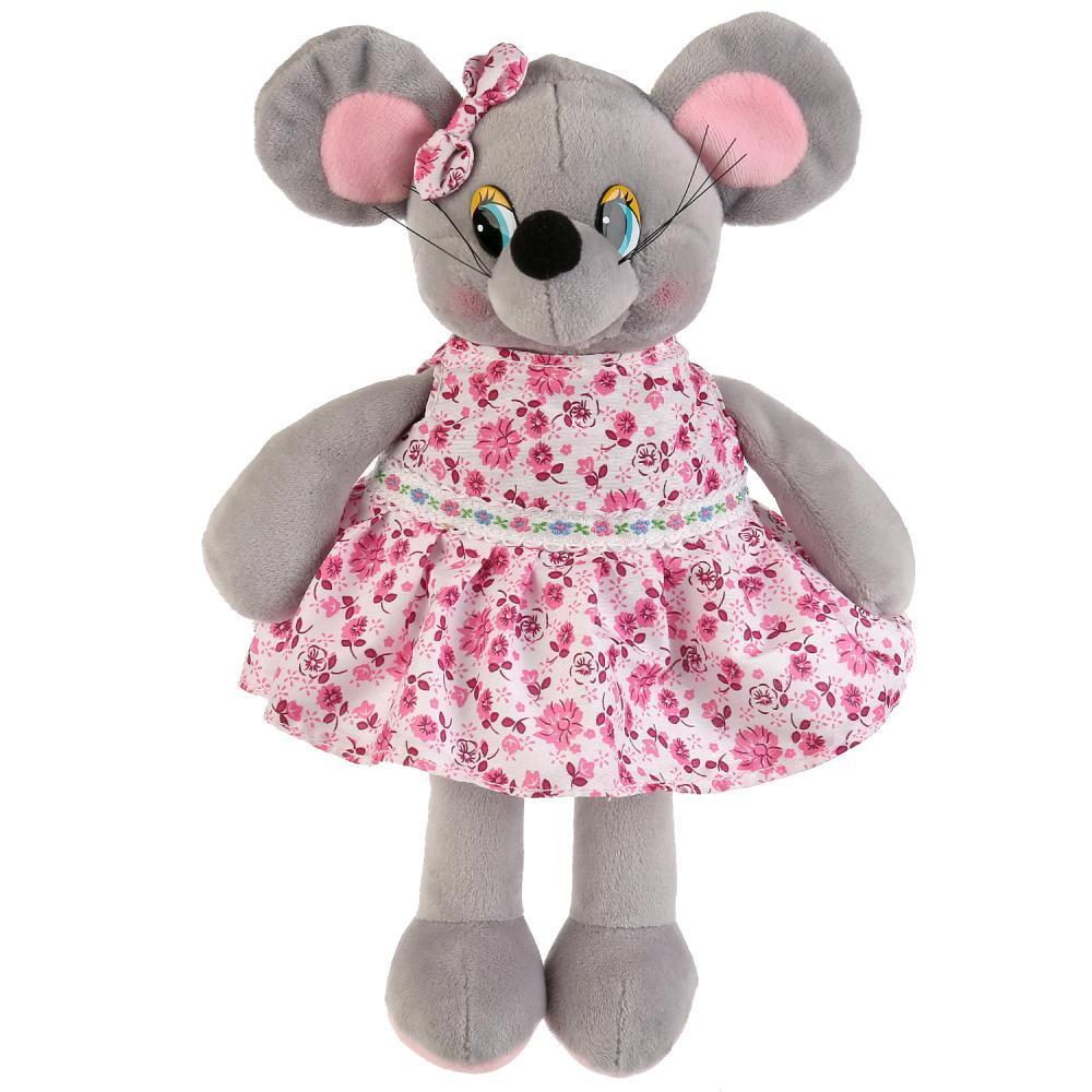 Игрушка мышка в платье 7