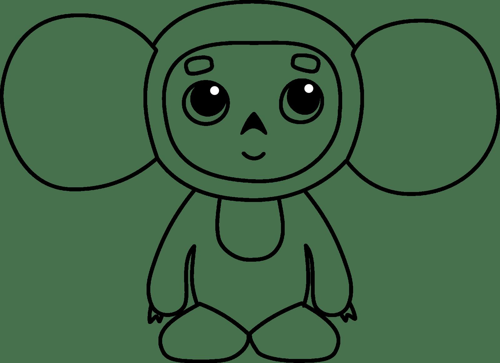 игрушка Чебурашка 67