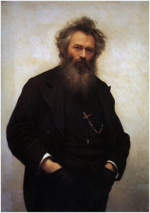 Портрет художника Шишкина