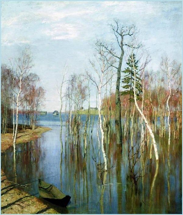 Весна большая вода картина