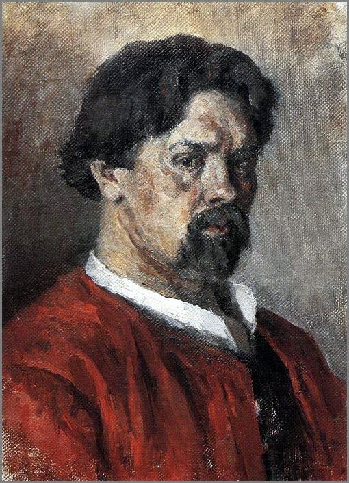 Портрет Сурикова