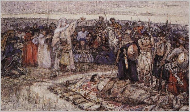 Княгиня Ольга картина