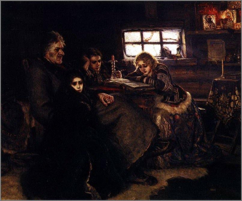 Меньшиков в Березове картина